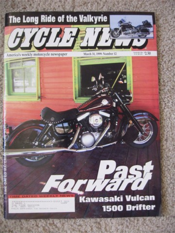 Cycle News - 1999