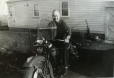 My Grandpa on his bike