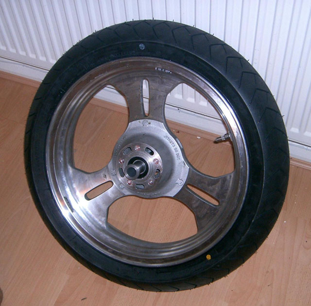Wheel with Adapter